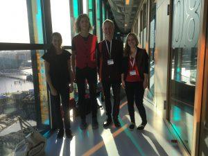 Kwartet Gaudete tijdens het concours van de Open Recorder Days Amsterdam