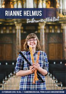 23 februari examen blokfluit Rianne Helmus op het Prins Claus conservatorium - Groningen