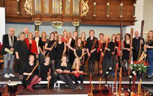 Jubileumconcert 2016 5 jaar Topopleiding Flauto Nuovo en 25 jaar Stichting Flauto Nuovo Friesland